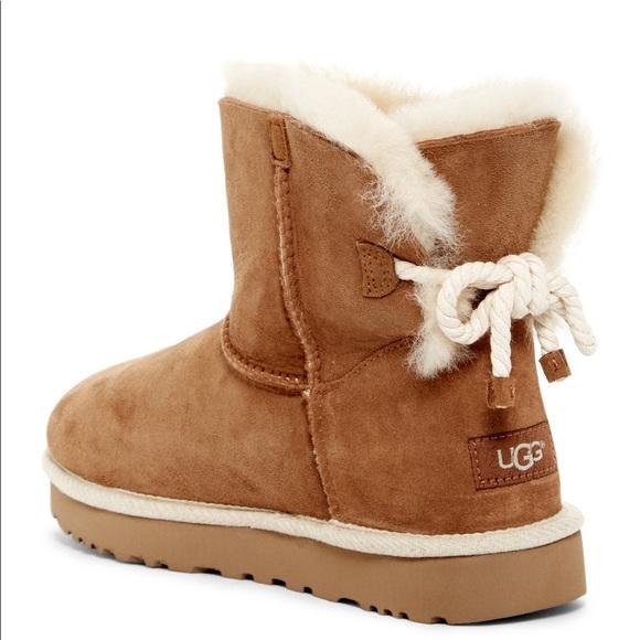 2317b4ba185 Selene Genuine Lamb Fur and Shearling Lined Boot